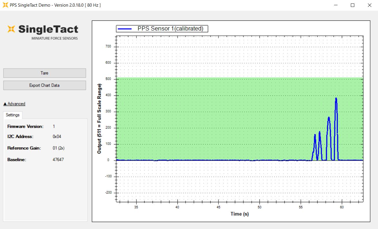 Force Sensor Software